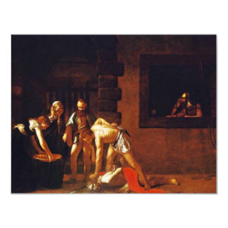 The Beheading Of John The Baptist For The Oratory Announcement