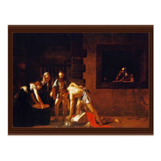 The Beheading Of John The Baptist For The Oratory Postcard