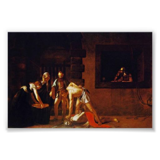 The Beheading Of John The Baptist For The Oratory Poster