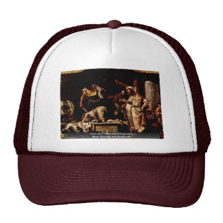 The Beheading Of John The Baptist Trucker Hat