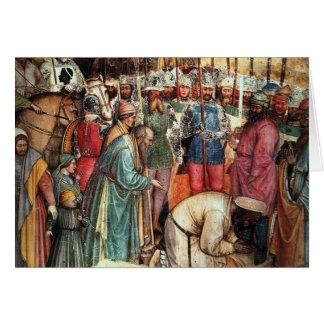 The Beheading of Saint George Greeting Card
