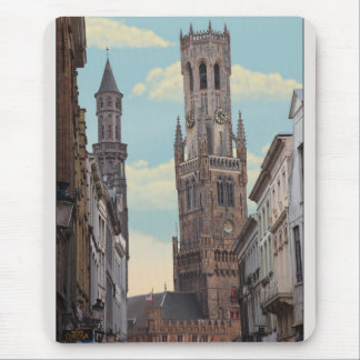 The Belfry in Brugge Mouse Pad