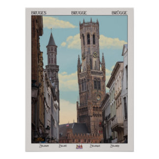 The Belfry in Brugge Posters