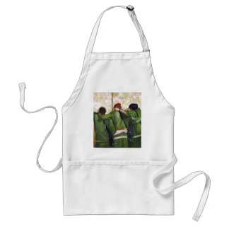 The Believers Wailing Wall Painting Aprons