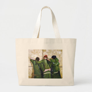 The Believers Wailing Wall Painting Canvas Bag
