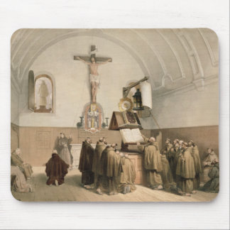 The Bell Ringers at the Oratory of the Capucines, Mousepad