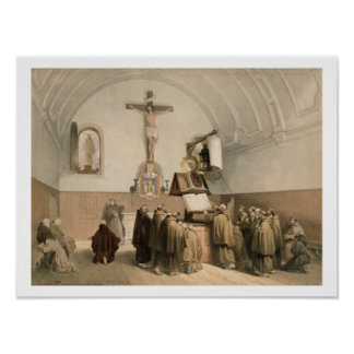 The Bell Ringers at the Oratory of the Capucines, Print