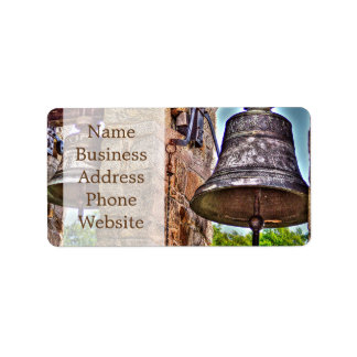 The Bell Tower Antique Stone Arches Label