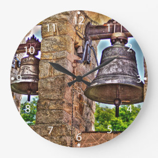 The Bell Tower Antique Stone Arches Large Clock