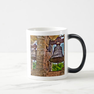 The Bell Tower Antique Stone Arches Magic Mug