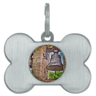 The Bell Tower Antique Stone Arches Pet ID Tags