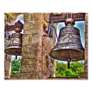 The Bell Tower Antique Stone Arches Photo Print