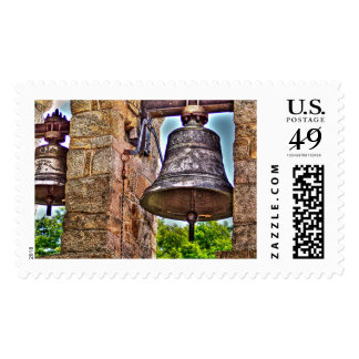 The Bell Tower Antique Stone Arches Postage