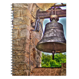 The Bell Tower Antique Stone Arches Spiral Notebook