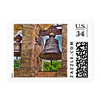 The Bell Tower Antique Stone Arches Stamp