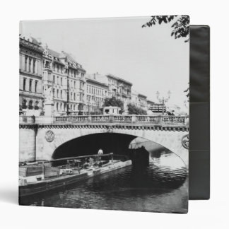 The Belle-Alliance Bridge, Berlin, c.1910 Binder