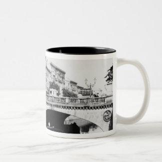 The Belle-Alliance Bridge, Berlin, c.1910 Two-Tone Coffee Mug