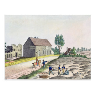 The Belle Alliance Farm after  Battle of Postcard
