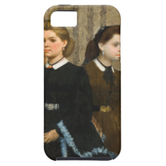 The Bellelli Sisters by Edgar Degas iPhone SE/5/5s Case