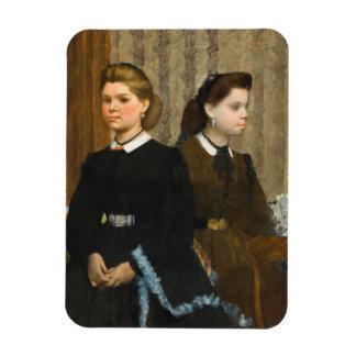 The Bellelli Sisters by Edgar Degas Magnet