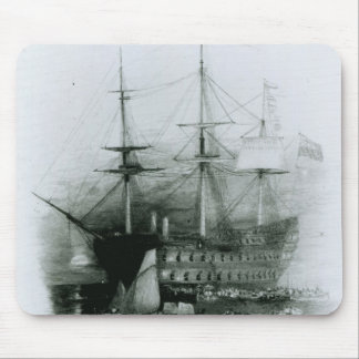 The Bellerophon at Plymouth Sound Mouse Pad