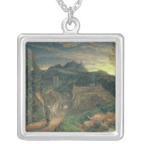 The Bellman Silver Plated Necklace