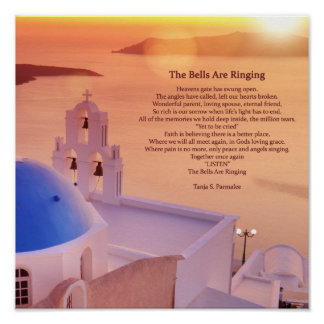 The Bells Are Ringing Poetry Collector Poster