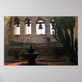 The Bells of San Juan Capistrano 36 x 24 Poster