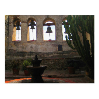The Bells of San Juan Capistrano Postcard