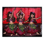 The Belly Dancers Post Card