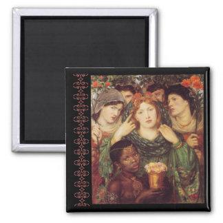 The Beloved Bride Magnets