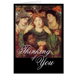 The Beloved Bride - Thinking of You Card