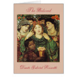 The Beloved by Dante Raphael Rossetti Greeting Cards