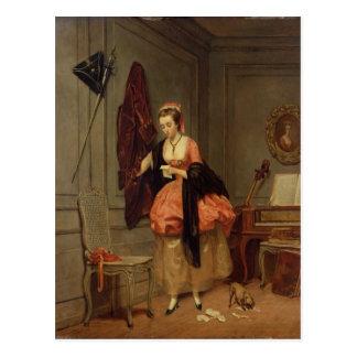 The Beloved Mistress, 1846 Postcard