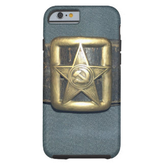 The BELT of the OFFICER of the red army of the RSF Tough iPhone 6 Case