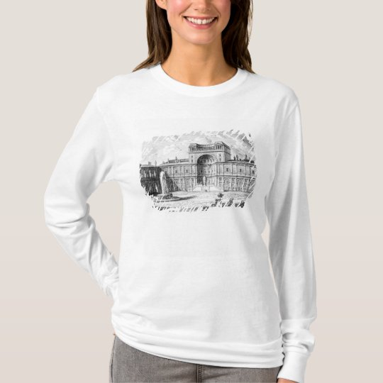 The Belvedere Court in the Vatican Rome T-Shirt
