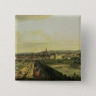 The Belvedere from Gesehen, Vienna Button