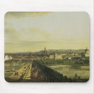 The Belvedere from Gesehen, Vienna Mouse Pad