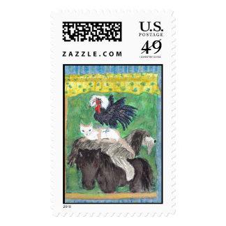 The Bemen Town Musicians-staring-Spot,Utopia,Junio Postage Stamps