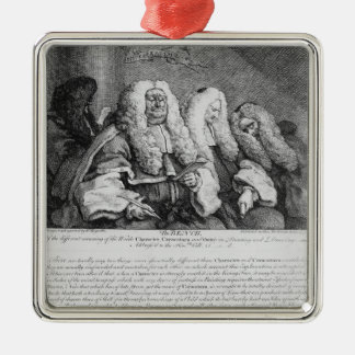 The Bench, 1758 Metal Ornament