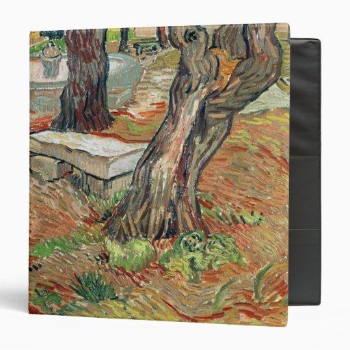 The Bench at Saint-Remy, 1889 Vinyl Binder