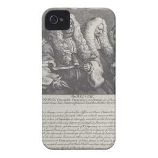 The Bench by William Hogarth iPhone 4 Cover