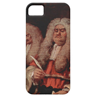 The Bench by William Hogarth iPhone SE/5/5s Case
