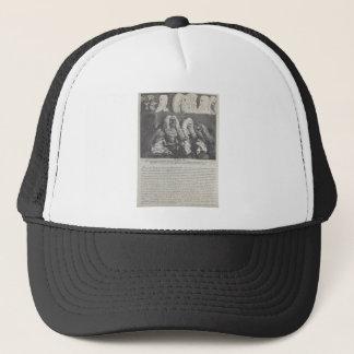 The Bench by William Hogarth Trucker Hat