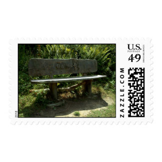 The Bench Postage Stamp