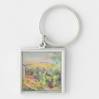 The Bend in the road, 1900-06 Keychain