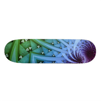The bending of unknown skateboard