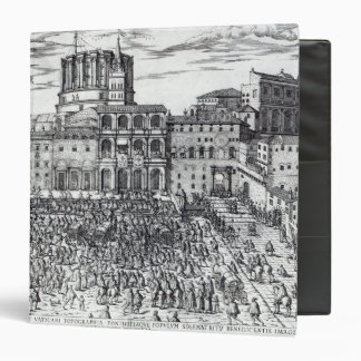The Benediction of Pope Pius V 3 Ring Binder