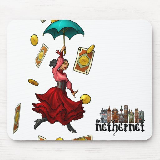 The Benefactress Mouse Pad