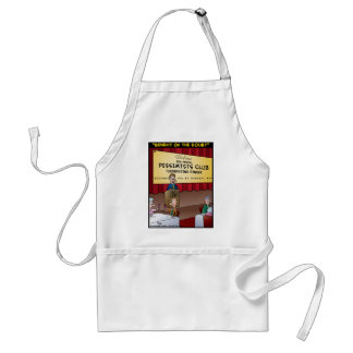 """""""The Benefit Of The Doubt"""" Adult Apron"""
